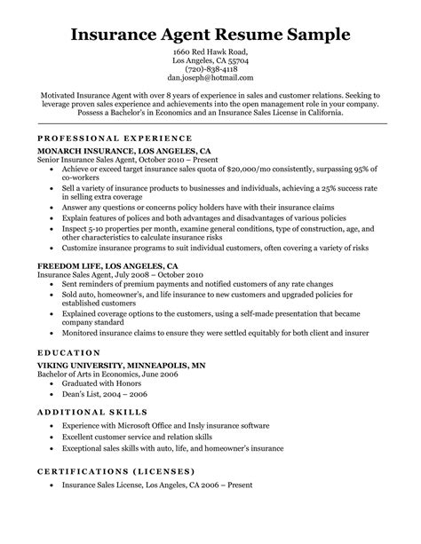 Agent lists and reports download csv / excel lists of licensed agents, adjusters, and agencies. Insurance Agent Resume Template   louiesportsmouth.com