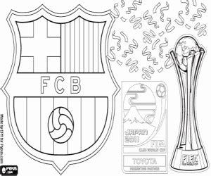 kleurplaat fc barcelonaclubs wereldkampioenschap