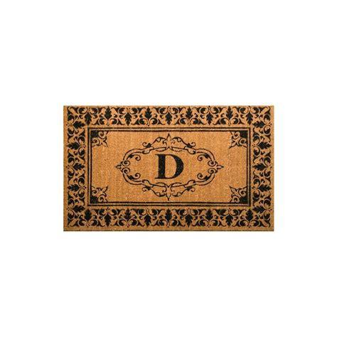 30 X 48 Doormat by Nuloom Welcome 30 In X 48 In Indoor Outdoor Monogrammed