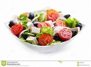 Bol A Salade : bol de salade grecque image stock image du personne ~ Teatrodelosmanantiales.com Idées de Décoration