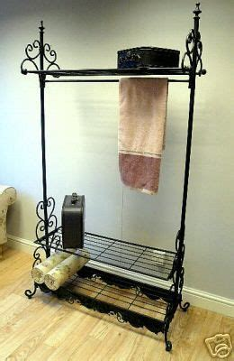 shabby chic hanging rail clothes rail shabby black french hanging rail shop display wardrobe chic ebay