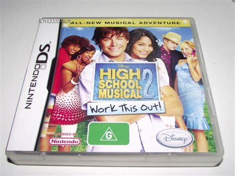 High School Musical 2 Work This Out Nintendo Ds 2ds 3ds