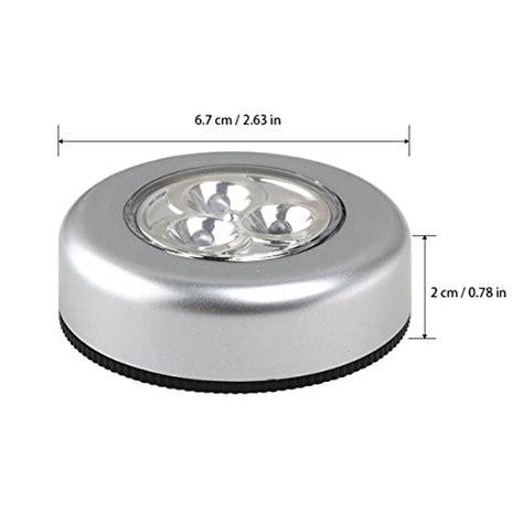 battery operated led kitchen lights tinksky set of 6 click push led l light ls 7608
