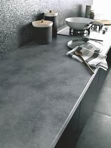 Plan De Travail Com : plan de travail bois granit quartz c t maison ~ Melissatoandfro.com Idées de Décoration