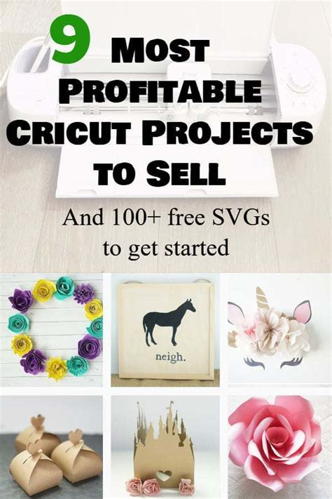 profitable cricut business projects  sell