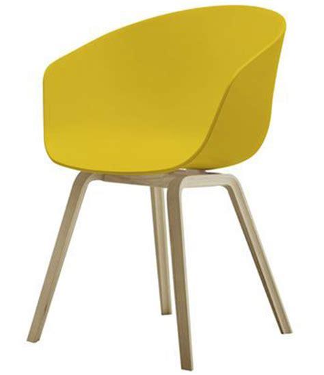 chaise tendance fauteuil jaune la couleur intemporelle et tendance