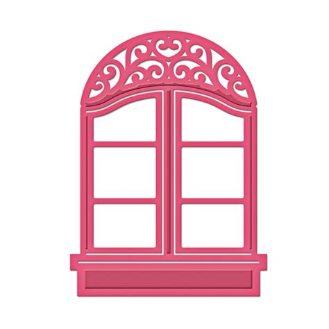 window template spellbinders shapeabilities d lites window two die