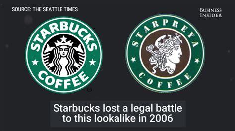 famous logos   eerily similar