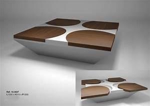 Table Basse Design Italien : table basse design italien le bois chez vous ~ Melissatoandfro.com Idées de Décoration