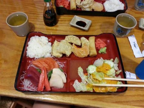 hana japanese cuisine sashimi bento boxf yelp