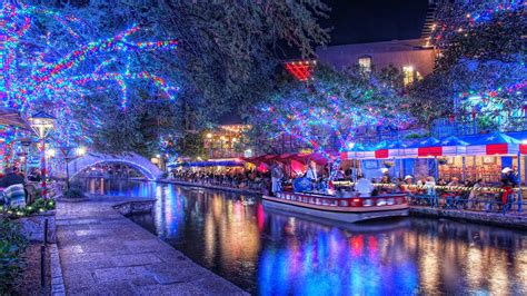 lighting san antonio tx the san antonio riverwalk at christmas time we don 39 t