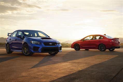 2019 Subaru Wrx Gets More Features, Wrx Sti Gets 5 More