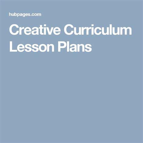 creative curriculum lesson plans creative curriculum