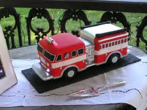 firefighter wedding cakes truck cake 1 flickr photo