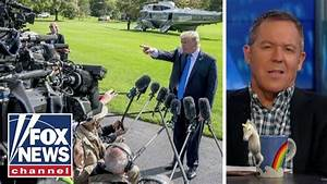 Gutfeld on the words media use to describe Trump - YouTube