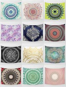 Society6 Mandala Tapestries