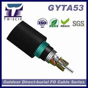 China Outdoor Underground Direct Buried Optic Fiber Cables