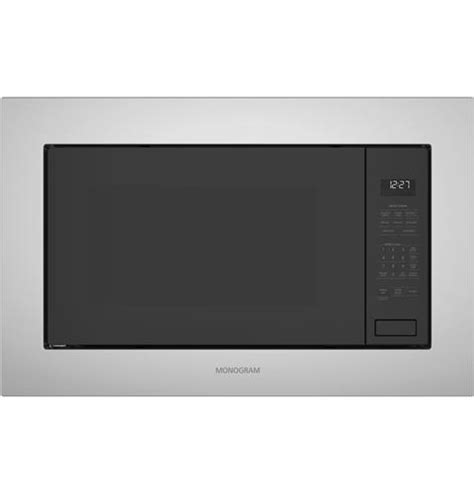 zebslss monogram  cu ft built  microwave oven monogram appliances