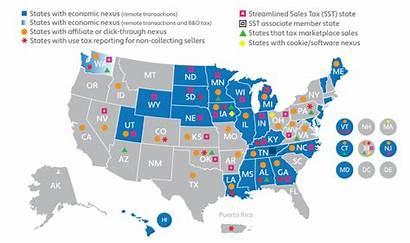 Tax Sales Ecommerce State Laws B2b Nexus