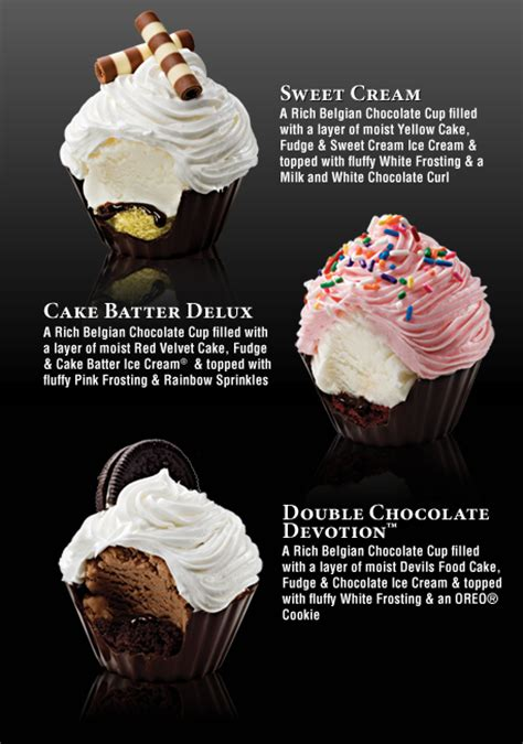 cupcakes cup ice cream cupcakes cold stone