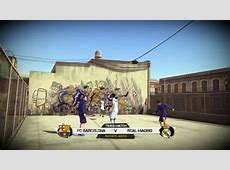 Gameplay FIFA Street FC Barcelona vs Real Madrid