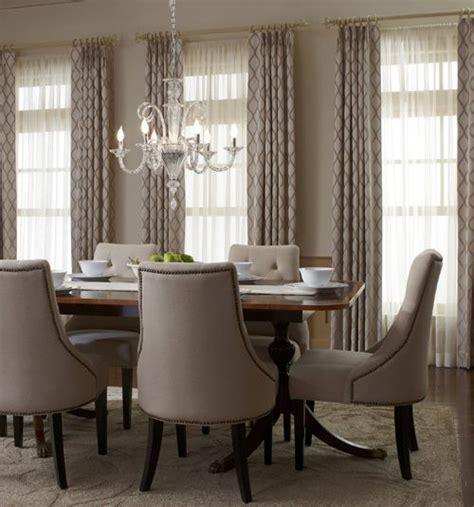 dining room drapes ideas  pinterest dining