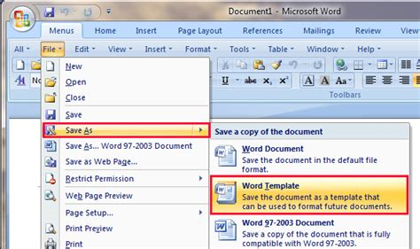 How To Find Templates In Microsoft Word 2003 Resume
