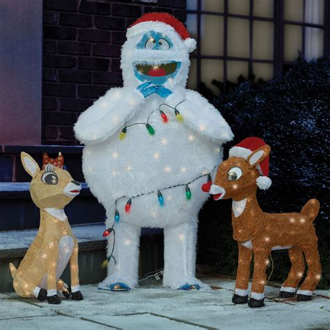 rudolph  clarice outdoor christmas decorations www