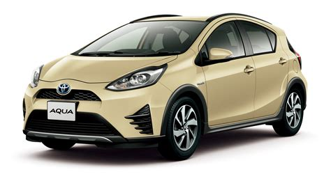 crossover toyota toyota prius c crossover variant in japanese update