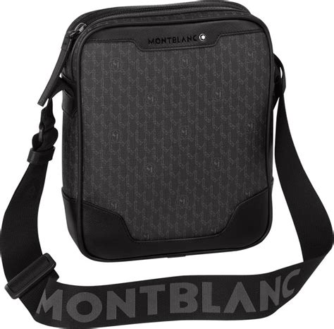 montblanc presentsmontblanc signature north south bag mini  zip crossbody bags  travel