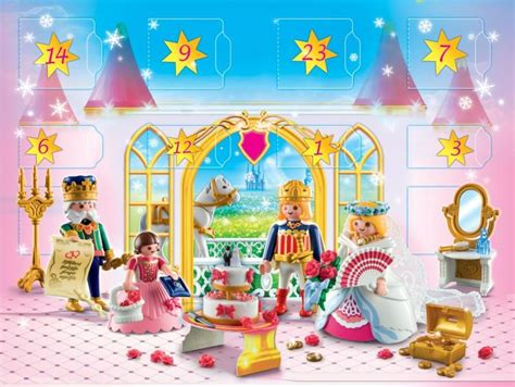 playmobil chambre princesse playmobil princess advent calender 4165 table mountain toys