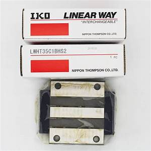 Original Iko Ball Type Linear Motion Rolling Guides