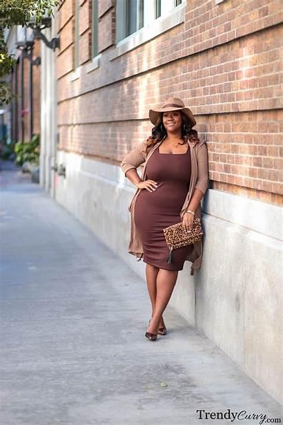 Trendycurvy Curvy Plus Trendy Tan Brown Outfit