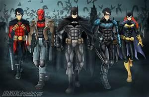 Bat Family by shamserg on DeviantArt