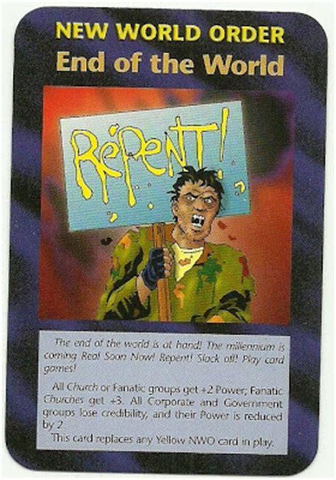 Illuminati Card Steve Jackson Anti Illuminati Eng Cards Of Steve Jackson Inwo 1995