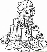 Strawberry Shortcake Coloring Pages Gifts Coloringpages101 Characters Cartoon Pdf sketch template