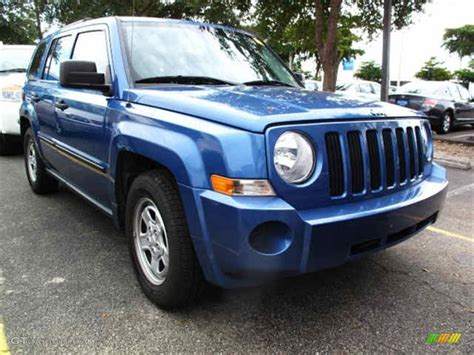 patriot jeep blue 2007 marine blue pearl jeep patriot sport 4x4 38548729