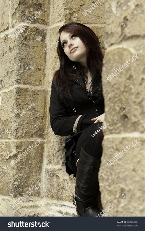Beautiful Alternative Woman Stock Photo 78346528