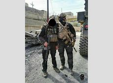 US Special Forces embedded with Golden Division in Mosul