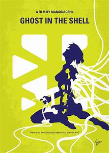 No366 My Ghost In The Shell Minimal Movie Poster Digital ...