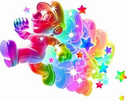 Mario Rainbow Super Galaxy Star Power Luigi