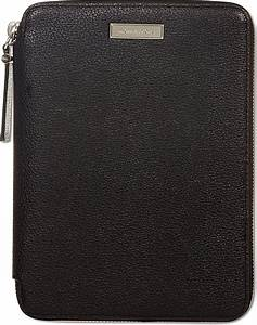 Michael Kors Leather Ipad Mini Case in Black for Men | Lyst