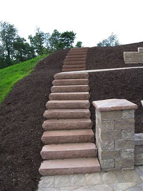 steps for landscaping cst landscape steps hardscaping ideas by cst pavers and versa lok retaining walls