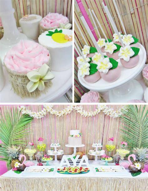 Kara's Party Ideas Hawaiian Birthday Party Planning Ideas