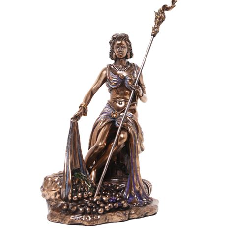 demeter goddess harvest statue greek statues roman mythology bronze magicalomaha