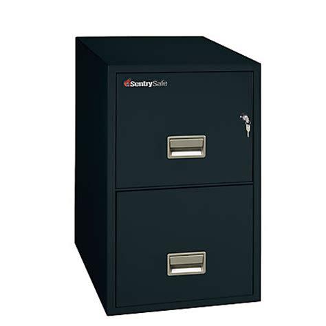 Sentry Fireproof File Cabinet - sentry safe safe 2 drawer vertical file cabinet 27