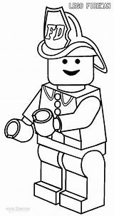 Firefighter Coloring Pages Cartoon Print Animated sketch template
