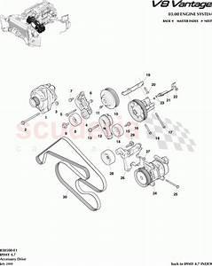 Aston Martin V8 Vantage Accessory Drive Parts