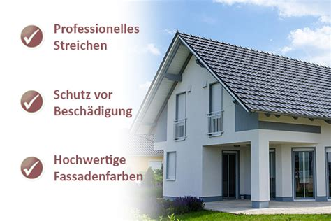 Hausfassade Modern Streichen by Fachgerecht Fassade Streichen F 252 R Essen Malerbetrieb Drews