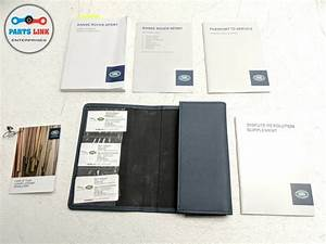 2014 Range Rover Sport L494 Owners Manual Book Quick Start